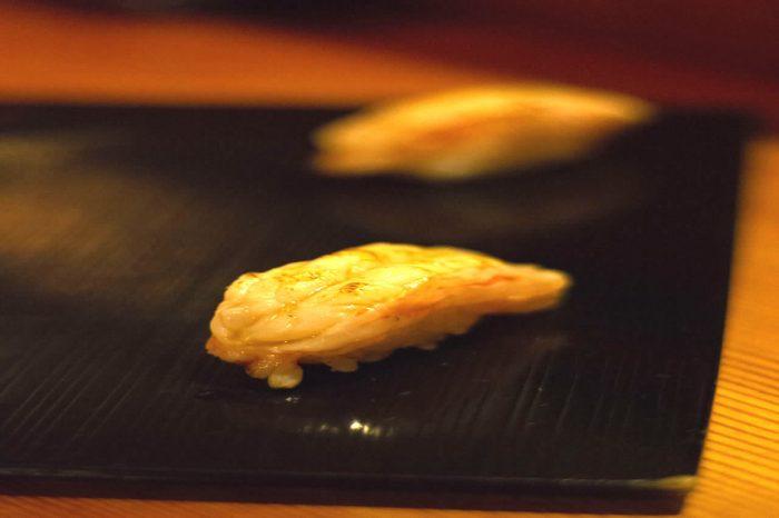 omakase sushi shrimp