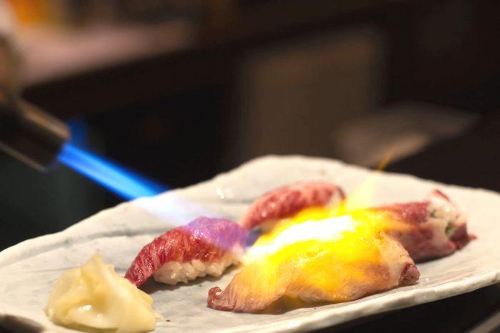 aburi wagyu sushi burner
