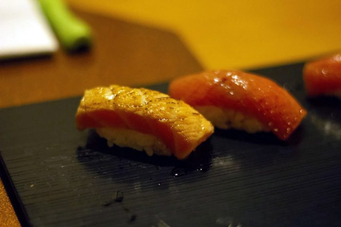 omakase sushi aburi