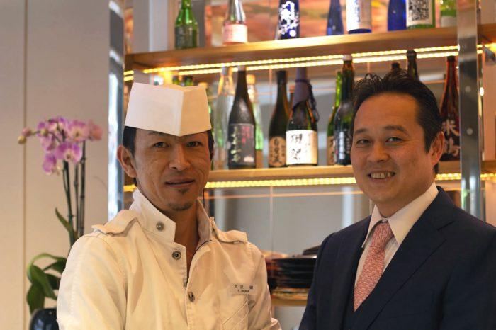 Ken Osawa氏とRyuji Ikemizu氏