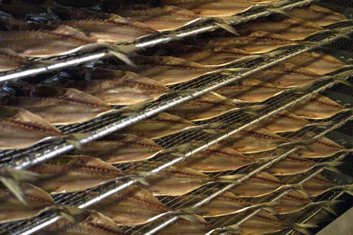 gedroogde makreel