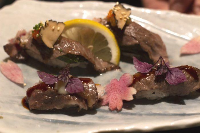 aburi wagyu sushi