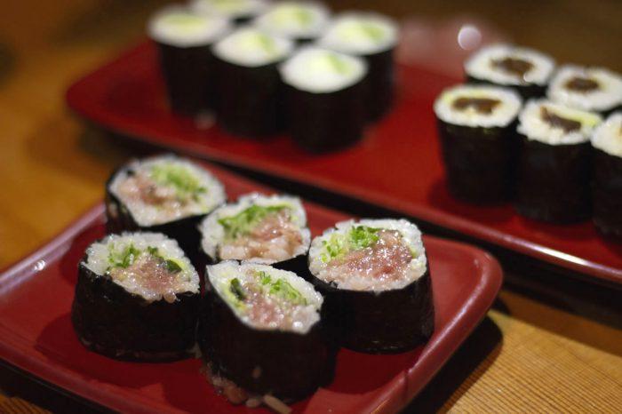 menu sushi broodjes