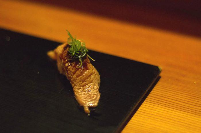 menu omakase sushi wagyu rundvlees