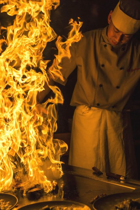 teppan flambe